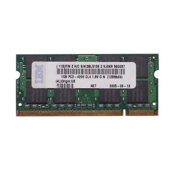 38L5136 IBM 16GB DDR2 SoDimm Non ECC PC2-4200 533Mhz Memory