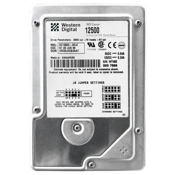 AC12500-00LK Western Digital 2GB 5400RPM ATA 33 3.5 256KB Cache Caviar Hard Drive