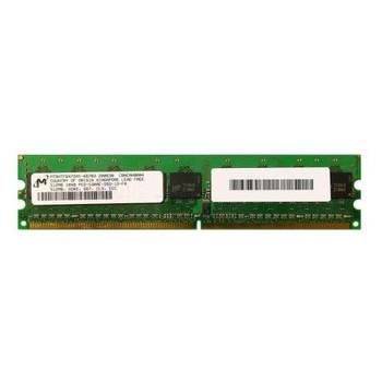 MT9HTF6472AY-667B3 Micron 512MB DDR2 ECC PC2-5300 667Mhz Memory