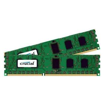 CT2Kit12872BA1067 Crucial 2GB (2x1GB) DDR3 ECC PC3-8500 1066Mhz Memory