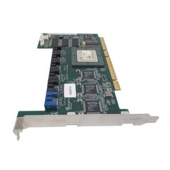 D9872 Dell 64MB Cache 64-bit 6-Ports SATA 1.5Gbps PCI-X RAID Controller Card