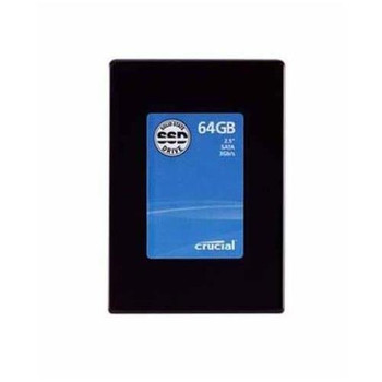 CT64GBFAA0 Crucial 64GB SLC SATA 3Gbps 2.5-inch Internal Solid State Drive (SSD)