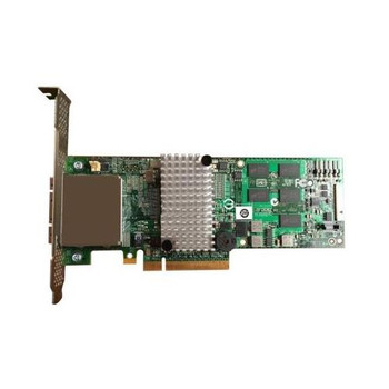 RS2PI008 Intel 512MB Cache 8-Port SAS 6Gbps / SATA 6Gbps PCI Express 2.0 x8 Low Profile MD2 RAID 0/1/5/6/10/50/60 Controller Card