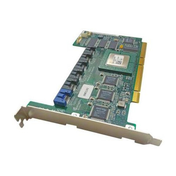 WC192 Dell 64MB Cache 64-bit 6-Ports SATA 1.5Gbps PCI-X RAID Controller Card