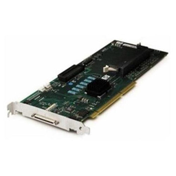 291967-B21 HP Smart Array 642 64MB Cache Dual Port 64-bit Ultra-320 SCSI 68-Pin PCI-X 0/1/5/10 RAID Controller Card