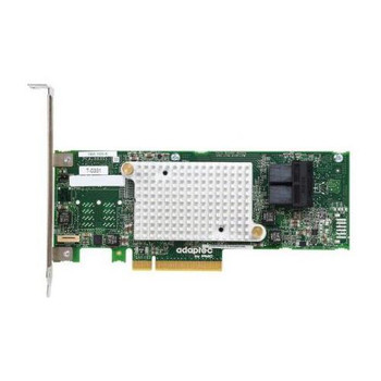 2288300-R Adaptec 8-Ports SATA 6Gbps / SAS 12Gbps PCI Express 3.0 x8 Low Profile Controller Card Low Profile 1.2 GBps PCie 3.0 X8