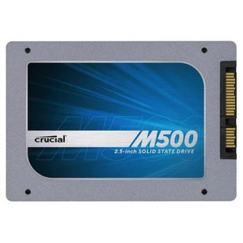CT240M500SSD1 Crucial M500 Series 240GB MLC SATA 6Gbps 2.5-inch Internal Solid State Drive (SSD) (Refurbished)