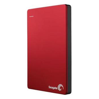 STDR2000103 Seagate Backup Plus Slim 2TB USB 3.0 2.5-inch External Hard Drive (Red) (Refurbished)