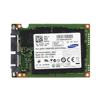 CHY3P Dell 128GB MLC SATA 3Gbps uSATA 1.8-inch Internal Solid State Drive (SSD)
