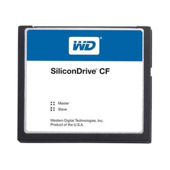 SSD-C25MI-3500 Western Digital SiliconDrive 256MB ATA/IDE (PATA) CompactFlash (CF) Type I Internal Solid State Drive (SSD) (Industrial Grade)