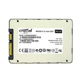 CT960BX200SSD1 Crucial BX200 Series 960GB TLC SATA 6Gbps 2.5-inch Internal Solid State Drive (SSD)