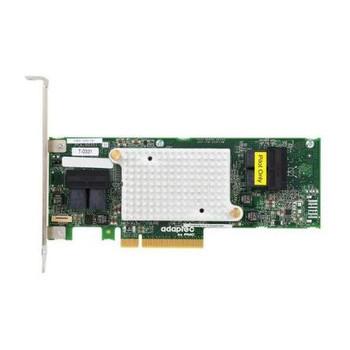 2288400-R Adaptec SATA / SAS 12Gbps PCI Express 3.0 x8 Low Profile Controller Card