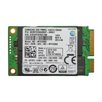 MZMTE256HMHP-000D1 Samsung PM851 Series 256GB TLC SATA 6Gbps mSATA Internal Solid State Drive (SSD)