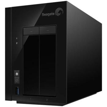 STDD8000100 Seagate NAS Pro 2-Bay 8TB (2 x 4TB) USB 3.0 Ethernet NAS Server (Refurbished)