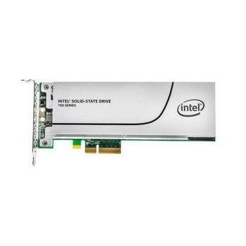 SSDPEDMW400G4R5-A1 Intel 750 Series 400GB MLC PCI Express 3.0 x4 NVMe (PLP) HH-HL Add-in Card Solid State Drive (SSD)