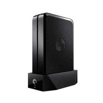 STAM3000200 Seagate FreeAgent GoFlex Home 3.5-inch 3TB Network Storage System with Base (Black) (Refurbished)