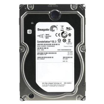 ST3000NM0023 Seagate 3TB 7200RPM SAS 6.0 Gbps 3.5 128MB Cache Constellation Hard Drive