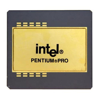 0056D Dell Pentium Pro 1 Core 200MHz Socket 8 256 KB L2 Processor