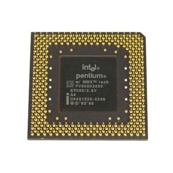 FV80503200-7 Intel Pentium MMX 200MHz 66MHz FSB 16KB L1 Cache Socket PPGA296 Processor