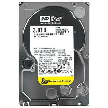 WD3000FYYZ-01UL1B0 Western Digital 3TB 7200RPM SATA 6.0 Gbps 3.5 64MB Cache RE Hard Drive