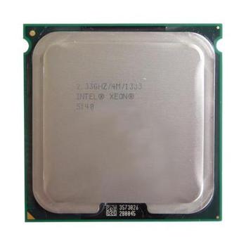 BX805565140A Intel Xeon Processor 5140 2 Core 2.33GHz LGA771 4 MB L2 Processor