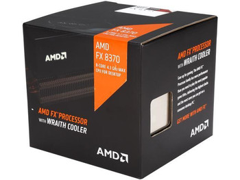 FD8370FRHKHBX AMD FX-8370 Octa-core (8 Core) 4 GHz Processor Socket AM3+ 1 8 MB 8 MB Cache 64-bit Processing 4.30 GHz Overclocking Speed 32 nm 125 W