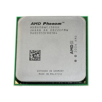 HD860BWCJ3BGH AMD Phenom X3 Triple-Core 8600B 2.3GHz 3600MHz FSB 2MB L3 Cache Socket AM2+ Processor