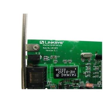EM1578 Linksys 10/100 Ethernet Etherfast Network Adapter Card Ver 5.1