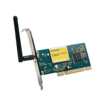 WG311V2 NetGear 54Mbps 802.11g Wireless PCI Adapter (Refurbished)