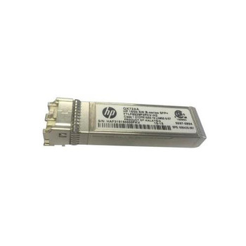 QK724A HP B-Series 16Gbps 16GBase-SW Multi-mode Fiber Channel 100m 850nm LC Connector SFP+ Tranceiver Module for HP SN6000B