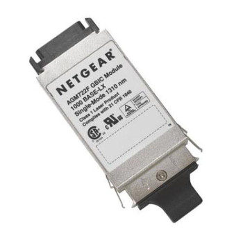AGM722F NetGear 1000Base-LX GBIC 1310nm 10km Transceiver Module