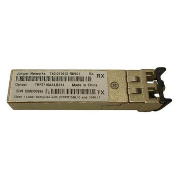 740-011613 Juniper 1Gbps 1000Base-SX Multi-Mode Fiber 550m 850nm Duplex LC Connector SFP Transceiver Module (Refurbished)