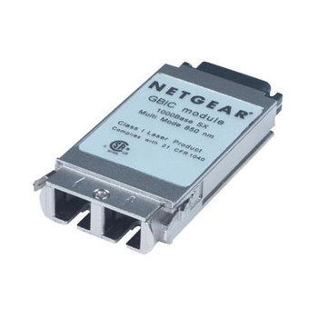 AGM721F NetGear 1Gbps 1000Base-SX Multi-mode Fiber 550m 850nm SC Connector GBIC Transceiver Module