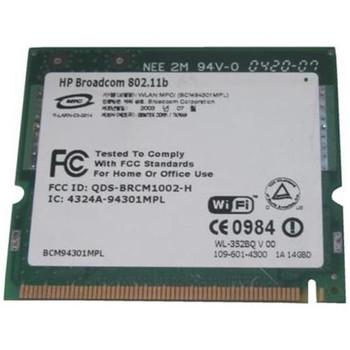 341336-001 HP Mini PCI 54G WiFi 802.11b/g Wireless LAN (WLAN) Network Interface Card for HP NX9110 Notebook