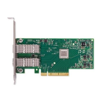 NV7YN Dell Mellanox ConnectX-4 LX Dual-Ports 25Gbps PCI Express x1 SFP Low Profile Network Adapter