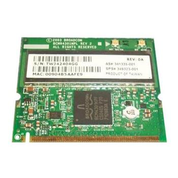 341335-001 HP Mini PCI 54G WiFi 802.11b/g Wireless LAN (WLAN) Network Interface Card for HP NX9010 Notebook
