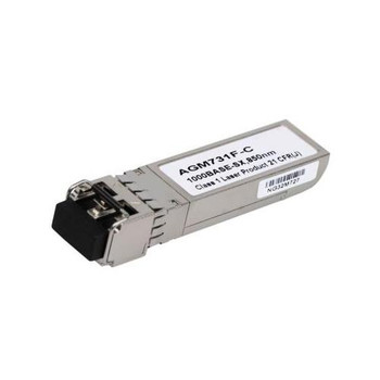 AGM731F-C Cisco AGM731F 1Gbps 1000Base-SX Multi-Mode Fiber 550m 850nm Duplex LC Connector SFP Transceiver Module Netgear Compatible