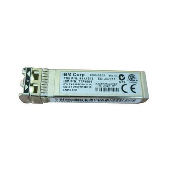 44X1976 IBM 8Gbps Multi-mode Fiber Shortwave Fibre Channel 300m 850nm LC Connector SFP+ Optical Transceiver Module for BladeCenter