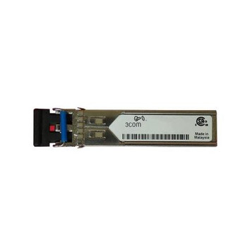0231A0LQ 3Com X120 1Gbps 1000Base-SX Multi-mode Fiber LC Connector SFP Transceiver Module