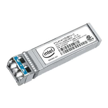 E10GSFPLR Intel 10Gbps 10GBase-LR Single-mode Fiber Digital Diagnostics (DDM) 10km 1310nm Duplex LC Connector SFP+ Transceiver Module