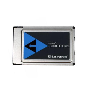 PCMPC100 Linksys Etherfast 10/100 PCMCIA PC Card