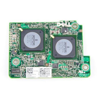 006JRC Dell Broadcom 5709s 4-Port 10GbE Embedded Mezzanine Network Interface Card
