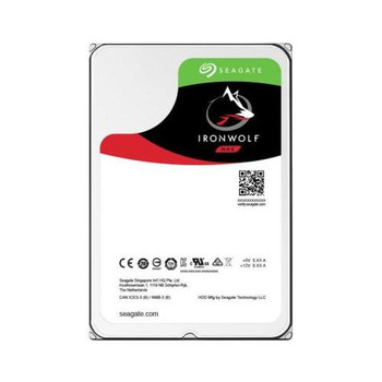 ST10000VNB004 Seagate 10TB 7200RPM SATA 6.0 Gbps 3.5 256MB Cache IronWolf Hard Drive