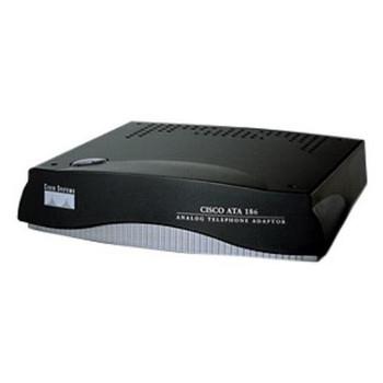 ATA188-I1 Cisco 188 2-Port Analog Telephone Adaptor 2 x FXS 1 x 10/100Base-TX LAN 1 x 10/100Base-TX Uplink (Refurbished)