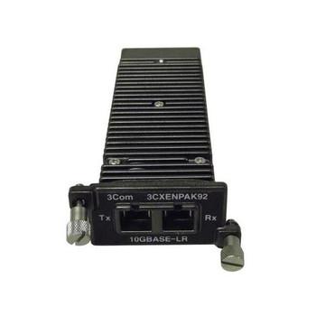 3CXENPAK92 3Com 10Gbps 10GBase-LR Single-Mode Fiber 10km 1310nm Duplex SC Connector XENPAK Transceiver Module