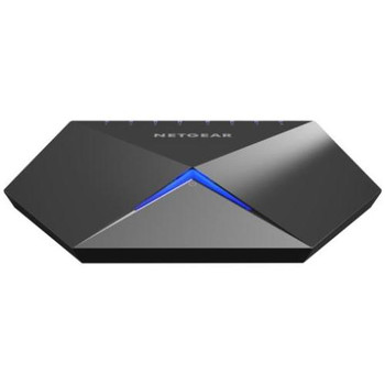 GS808E-100NAS Netgear Nighthawk S8000 Gaming & Streaming Switch 8 Network Manageable Twisted Pair 2 Layer Supported Desktop (Refurbished)