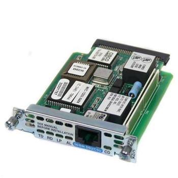 WIC-1DSU-56K4-RF Cisco Single-port WAN Interface Card (WIC) 1 x Switched 56/64 WAN Interface Card (WIC)