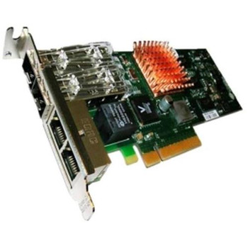 00E0841 QLogic Quad-Ports 10Gbps PCI Express 2.0 x8 Network Interface Card
