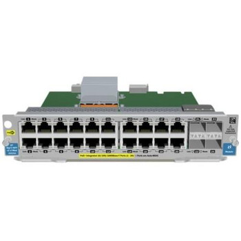 J9535AR HP ProCurve 20-Ports Gigabit PoE + 4-Ports SFP v2 zl Expansion Module (Refurbished)