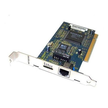 FA310TXREVD2 NetGear Packaged With Registration Card & Driver PCi Ethernet 10 100 Nic